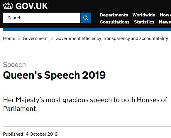 Queens Speech image